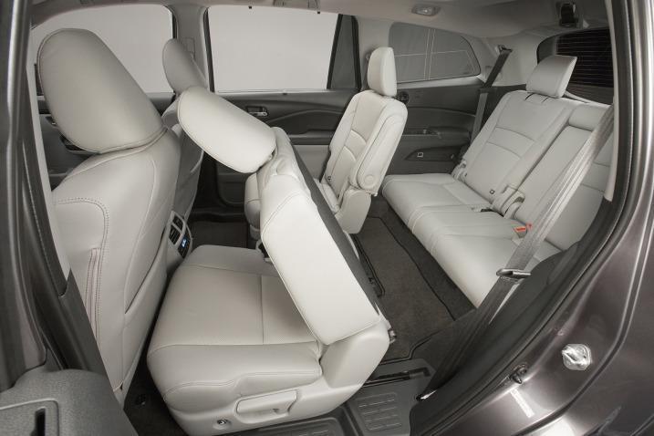 Honda Pilot 2016 asientos