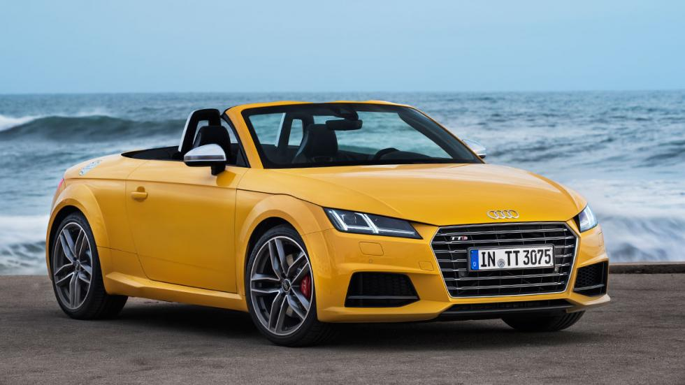 El Audi TT Roadster es la opción más emocionante de la gama. Mismos motores que