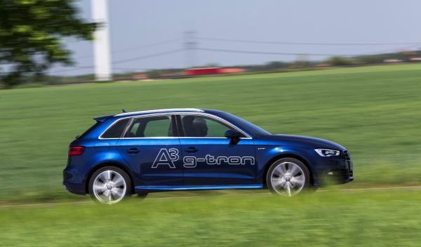El Audi A3 Sportback g-tron será el primer Audi fabricado en serie adaptado para