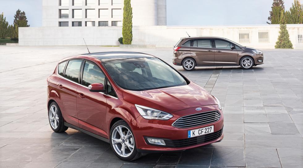 Los nuevos Ford C-Max y Grand C-Max saldrán a la venta a principios de 2015