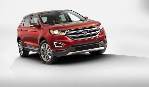 El Ford Edge es líder de ventas en el mercado americano, en Europa se situará po