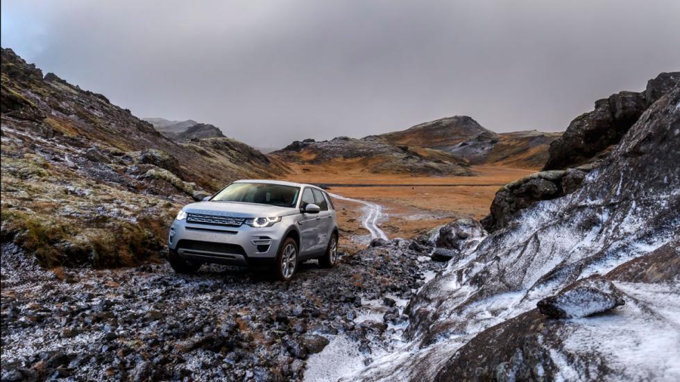 El Land Rover Discovery Sport 2015 está preparado para enfrentarse a todo tipo d