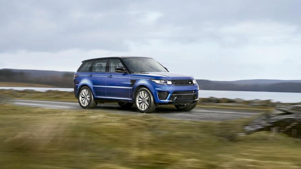 El Range Rover Sport SVR 2015 es el SUV más deportivo de Land Rover
