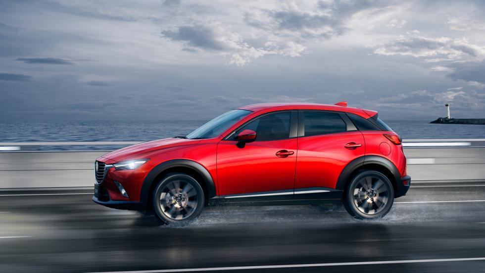 El Mazda CX-3 es un SUV compacto con una longitud de 4,2 metros.