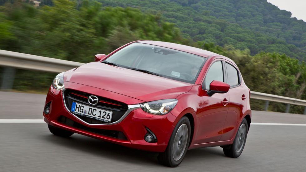 El nuevo Mazda2 destaca no sólo por su atractivo diseño, sino también por su din