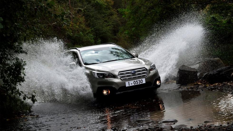 El Subaru Outback 2015 mantiene una estética crossover y una magnífica capacidad