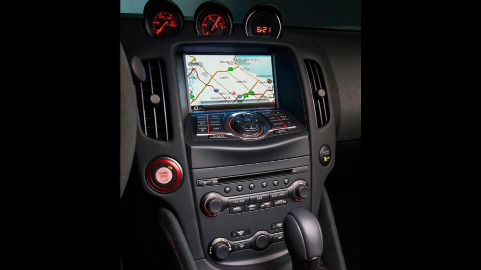 Nissan 370Z Nismo Roadster Concept navegador