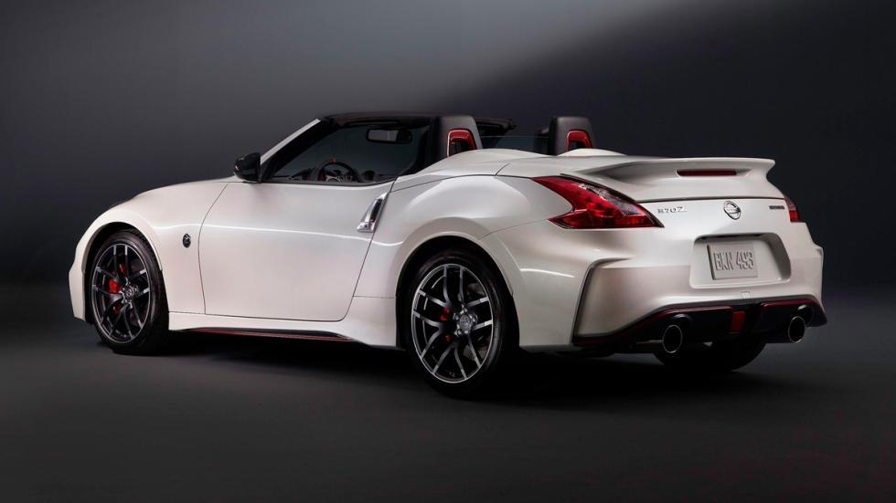 Nissan 370Z Nismo Roadster Concept tres cuartos traseros