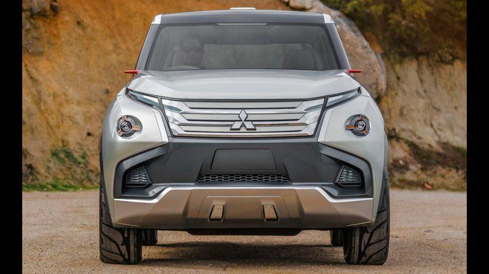 Mitsubishi GC-PHEV Concept frontal