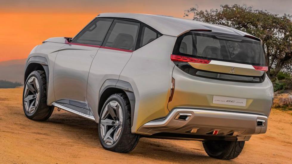 Mitsubishi GC-PHEV Concept tres cuartos traseros