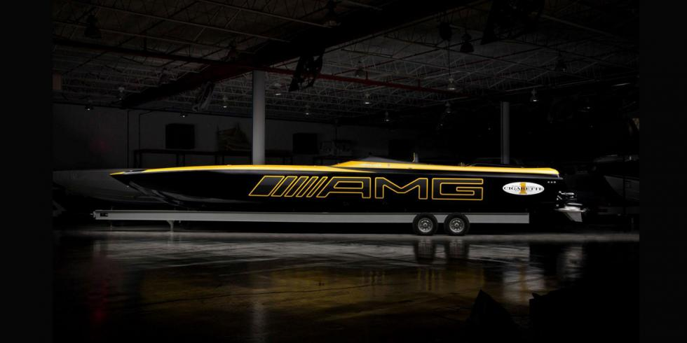 Cigarette Racing 50 Marauder GT S Concept lateral