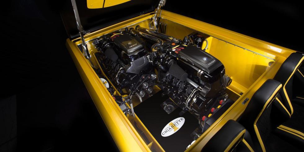 Cigarette Racing 50 Marauder GT S Concept motores