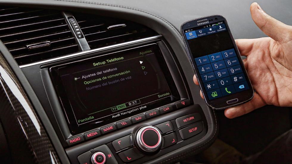 Audi R8 conectividad