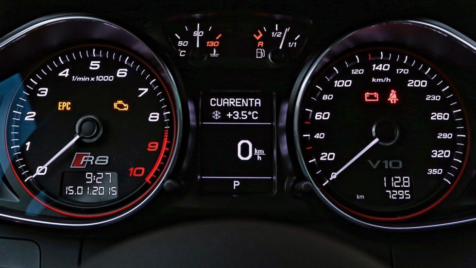 Audi R8 relojes