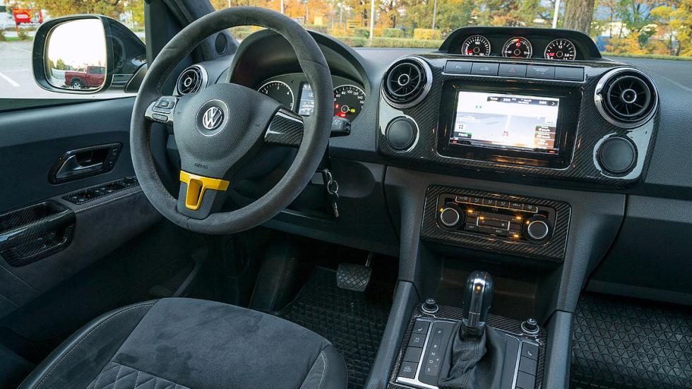 Dirks-MTM Amarok V8 Passion interior