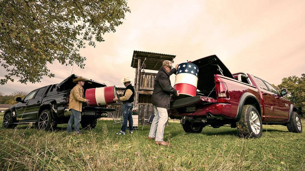 Dodge RAM 1500 5.7 Hemi y Dirks-MTM Amarok V8 Passion. Dos cargeros.