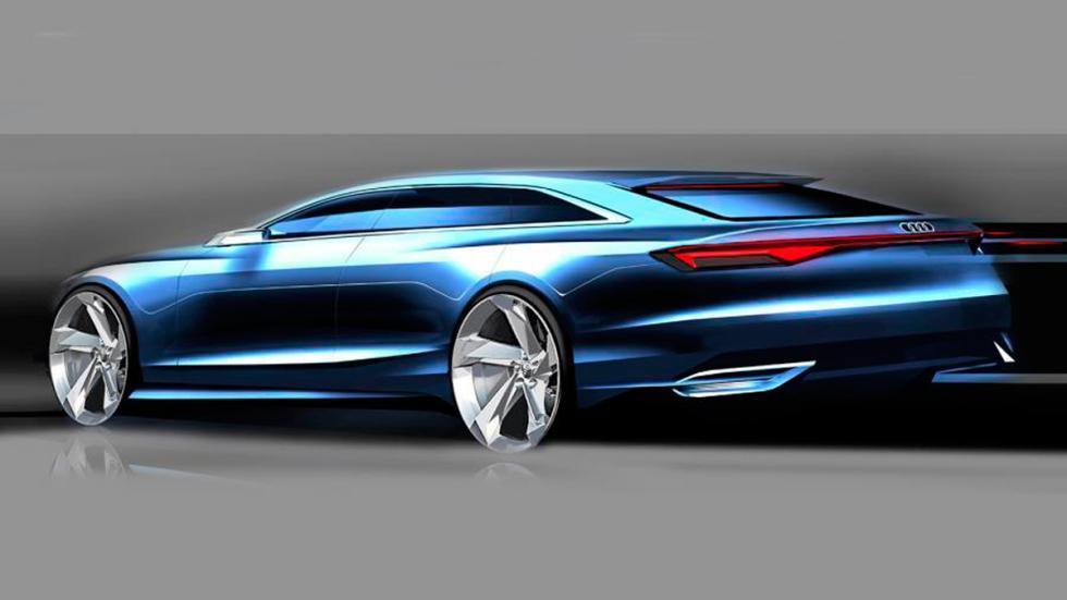 Audi Prologue Avant Concept trasera