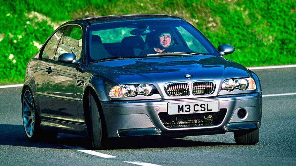 BMW M3 CSL delantera