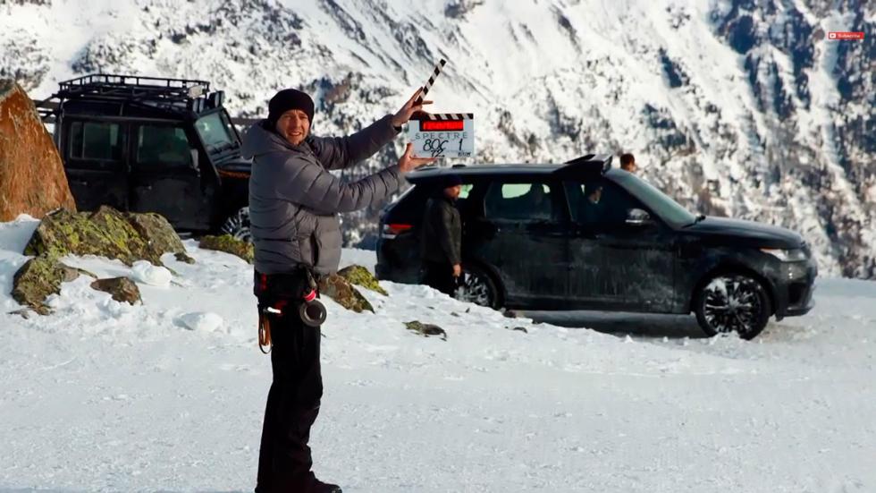 Primeras imágenes de la nueva entrega James Bond Spectre - claqueta