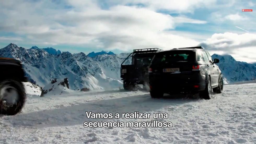 Primeras imágenes de la nueva entrega James Bond Spectre - todoterrenos