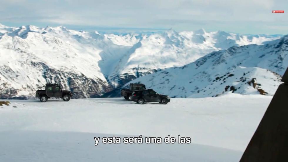 Primeras imágenes de la nueva entrega James Bond Spectre - pistas de nieve