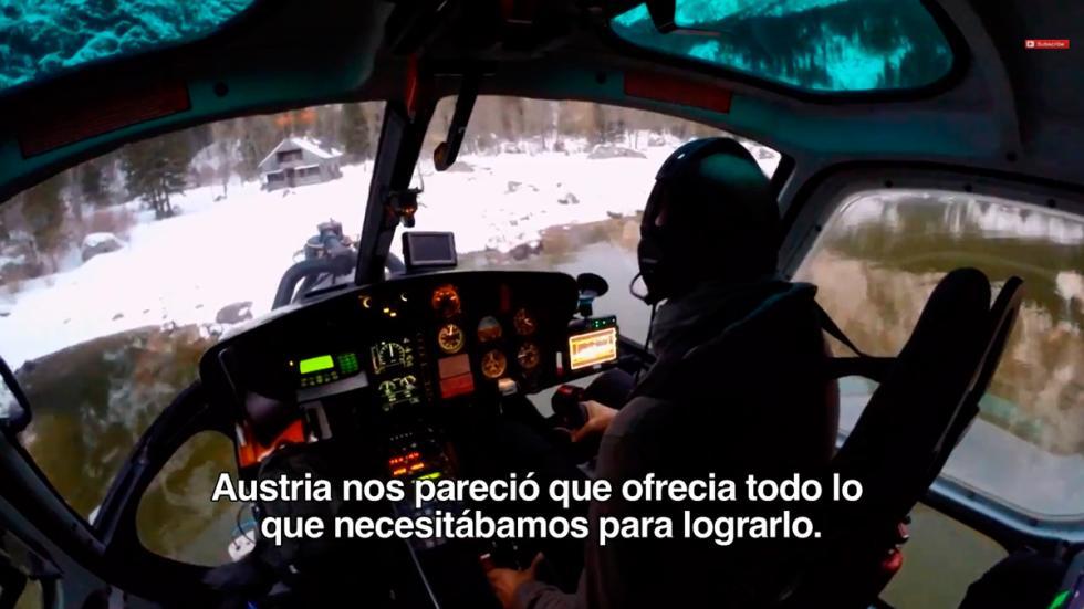 Primeras imágenes de la nueva entrega James Bond Spectre - helicóptero