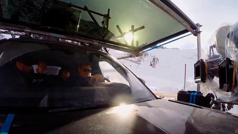 Primeras imágenes de la nueva entrega James Bond Spectre - cámara