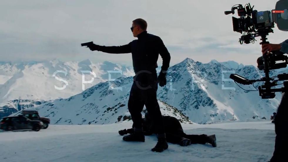 Primeras imágenes de la nueva entrega James Bond Spectre - James Bond pistola