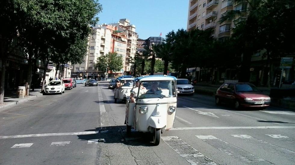 Piaggio Ape Calessino acción