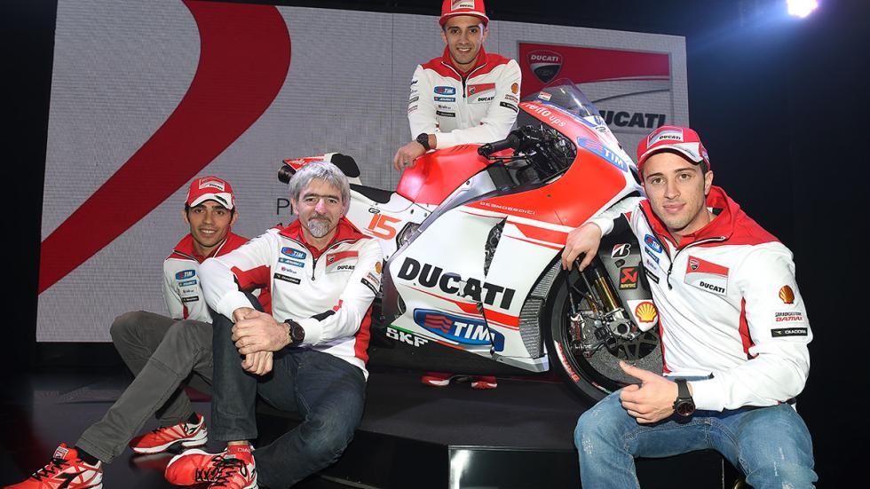 Ducati Desmosedici equipo