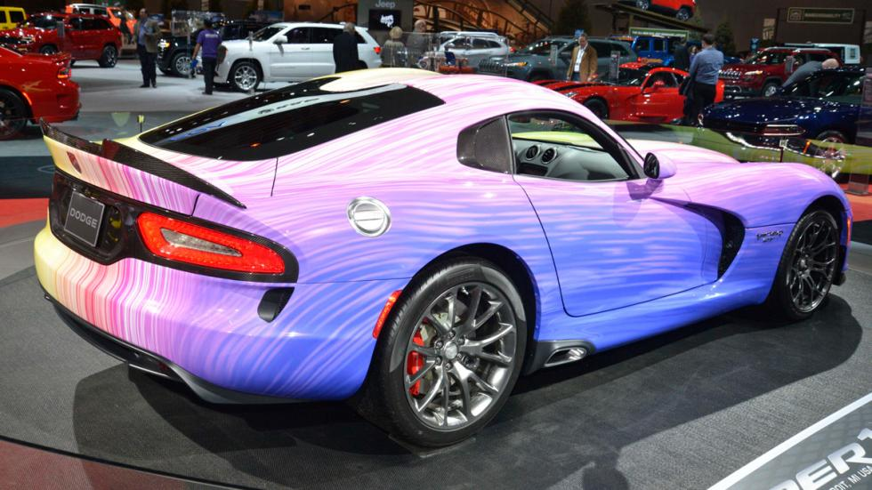 "Dodge Viper GTC  ""1-of-1"" trasera"