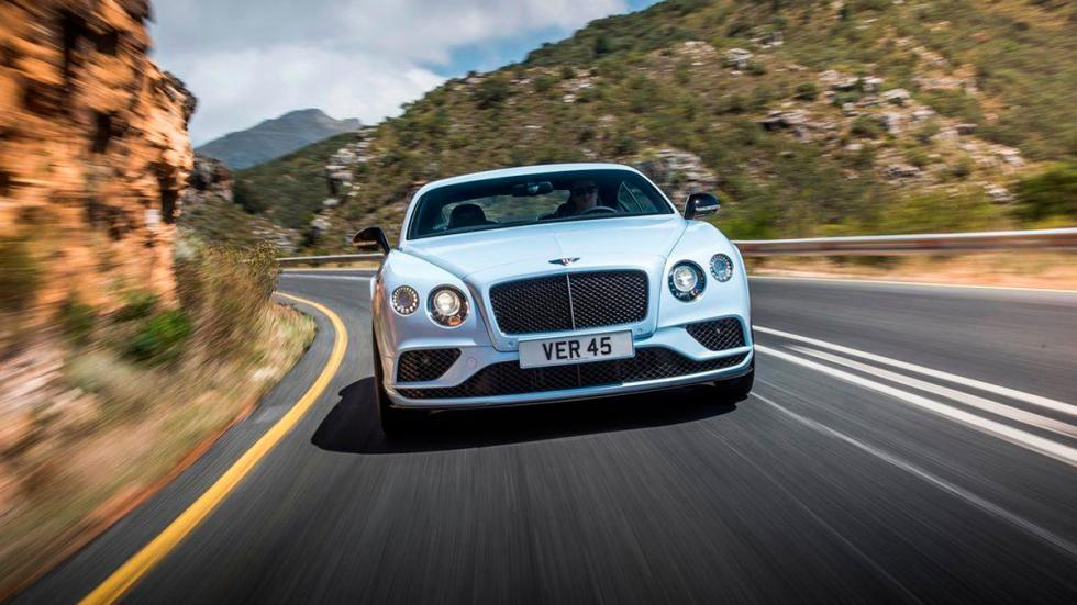 Bentley Continental GT V8 frontal