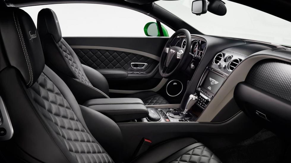 Bentley Continental GT Speed 2015 interior