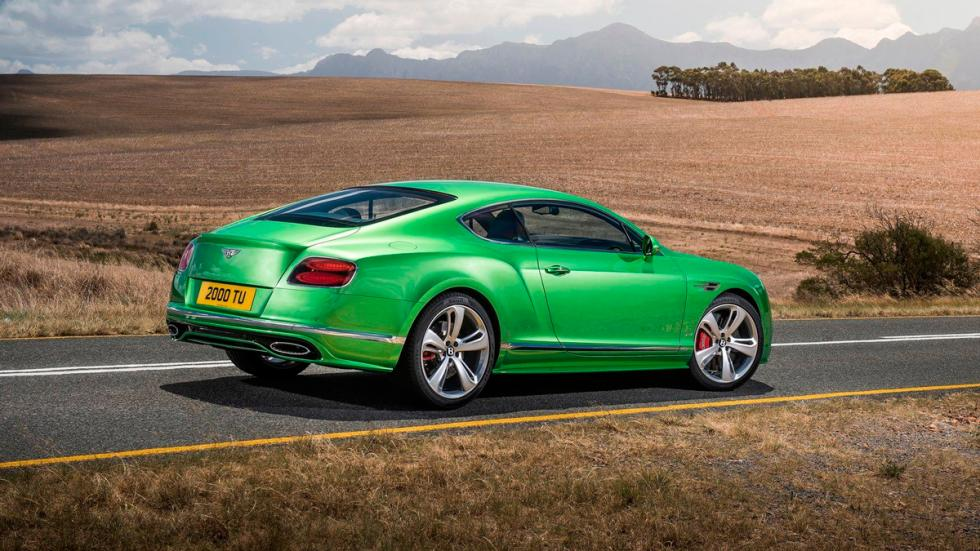 Bentley Continental GT Speed 2015 trasera
