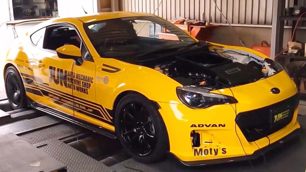 Subaru JUN Synergy motor mecánica garaje