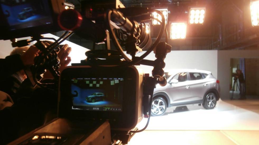 Hyundai tucson foto estudio