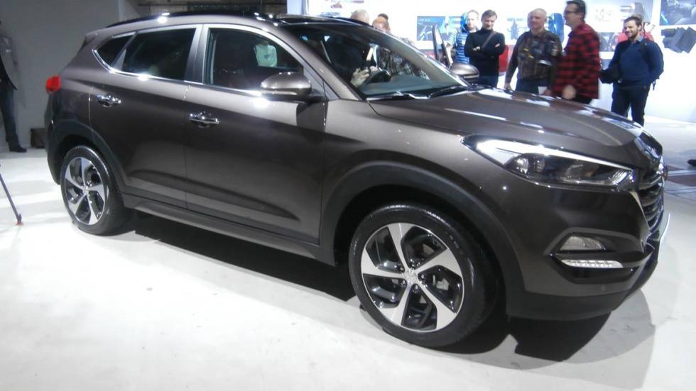 Hyundai Tucson 2015 acabado coreano