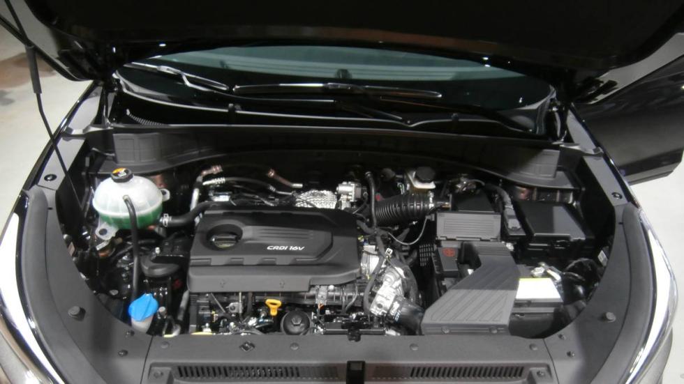 Hyundai Tucson 2015 motor