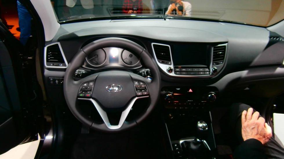 interior del Hyundai Tucson 2015