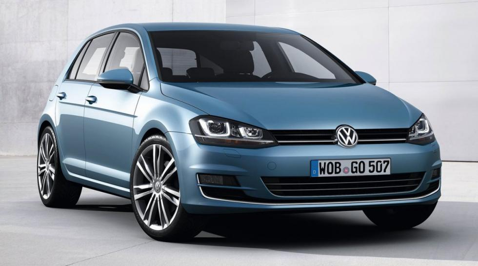 Volkswagen Golf delantera