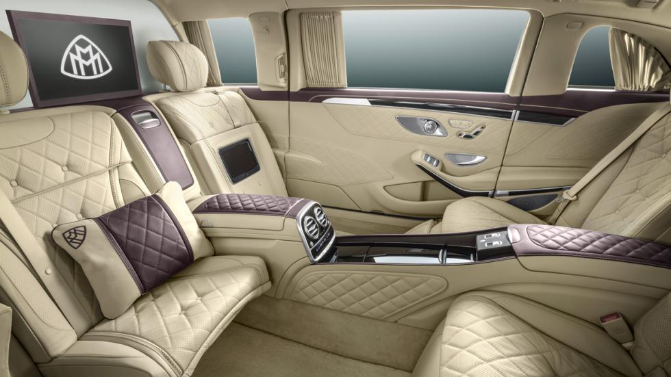Mercedes-Maybach Pullman 2015 asientos