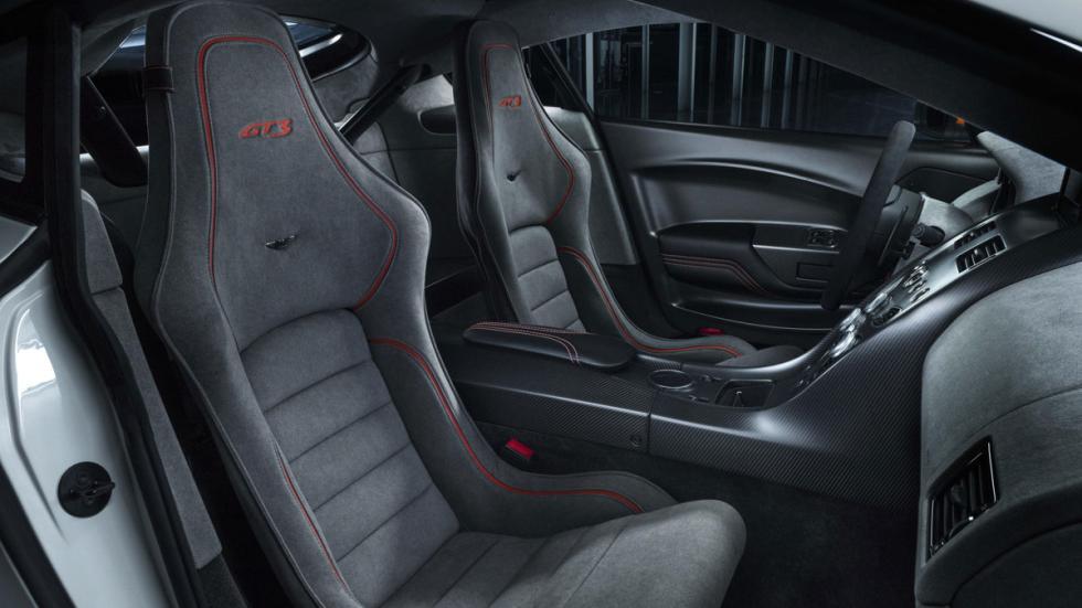 Aston Martin Vantage GT3 interior
