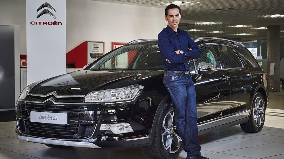 Citroën será proveedor de la Fundación Alberto Contador.