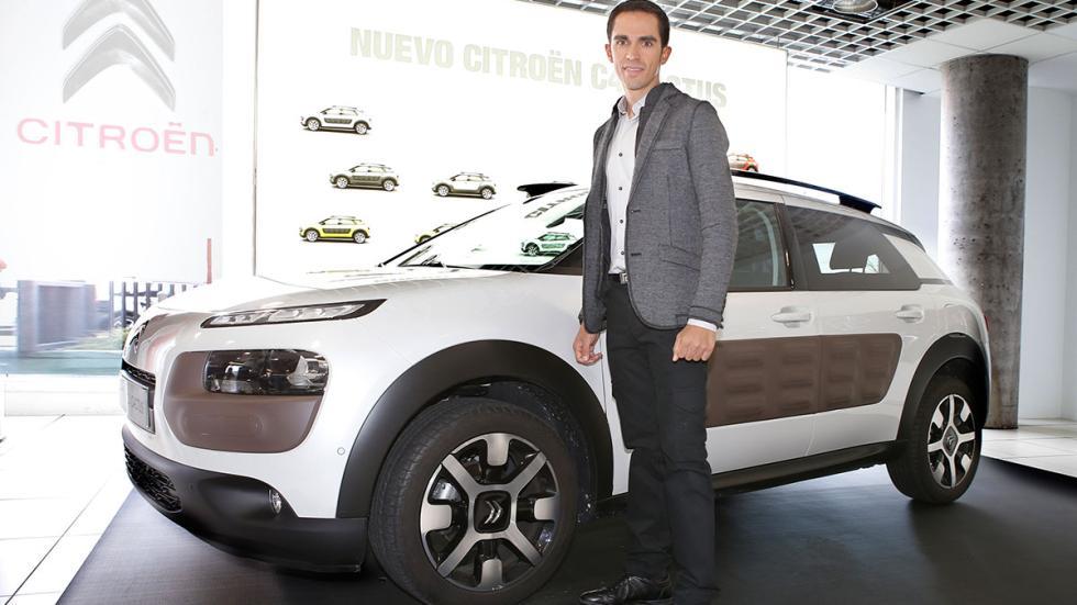 Citroën C4 Cactus y Alberto Contador