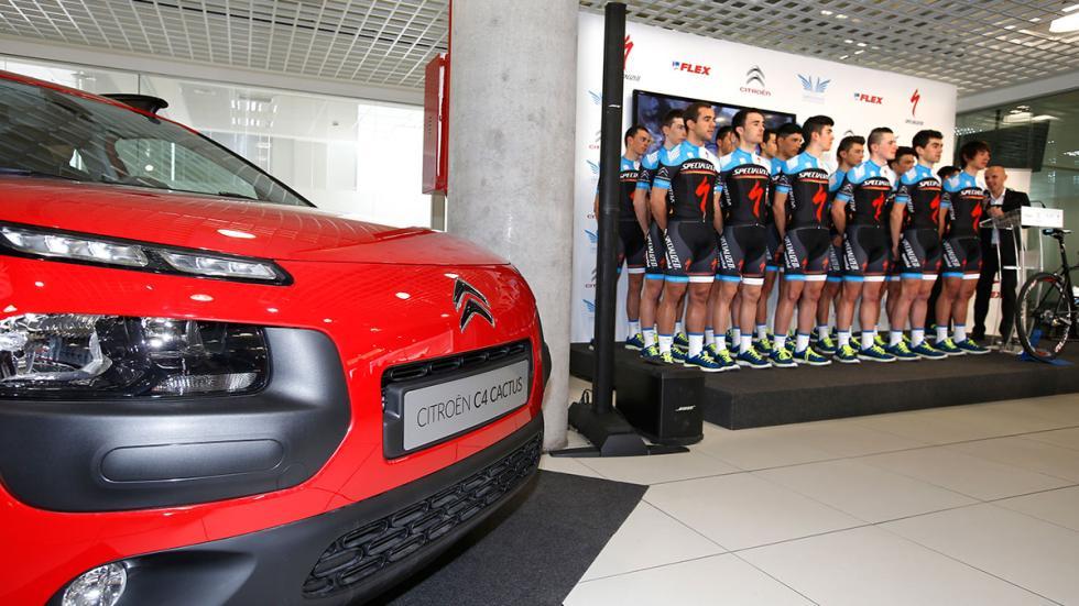 El Citroën C4 Cactus y la Fundación Alberto Contador