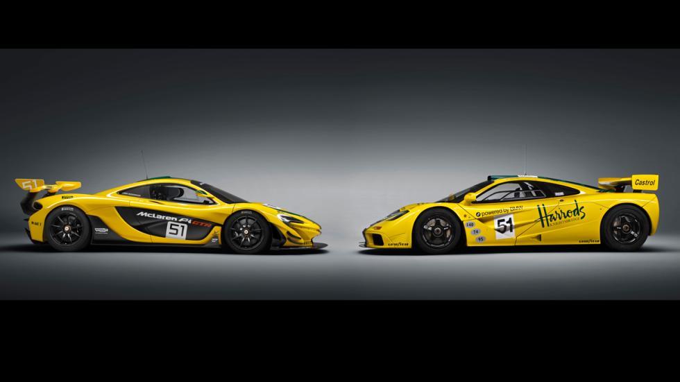 McLaren P1 GTR comparativa