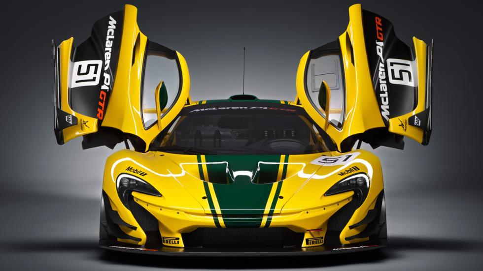 McLaren P1 GTR puertas
