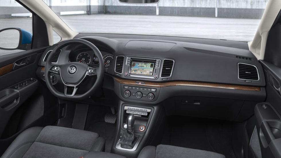 nuevo VW Sharan interior