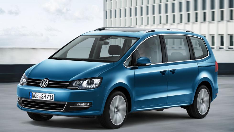 nuevo VW Sharan tres cuartos delanteros