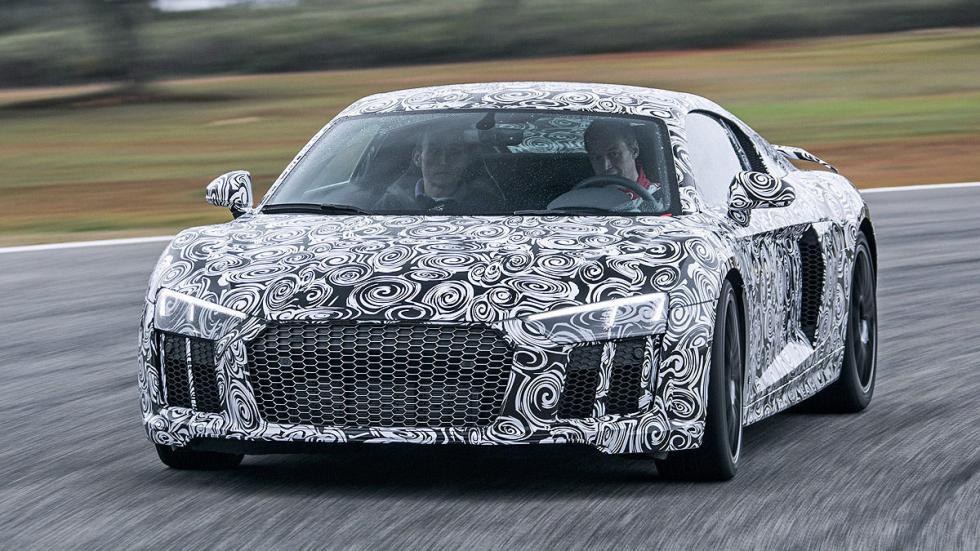 Audi R8 2015 faros